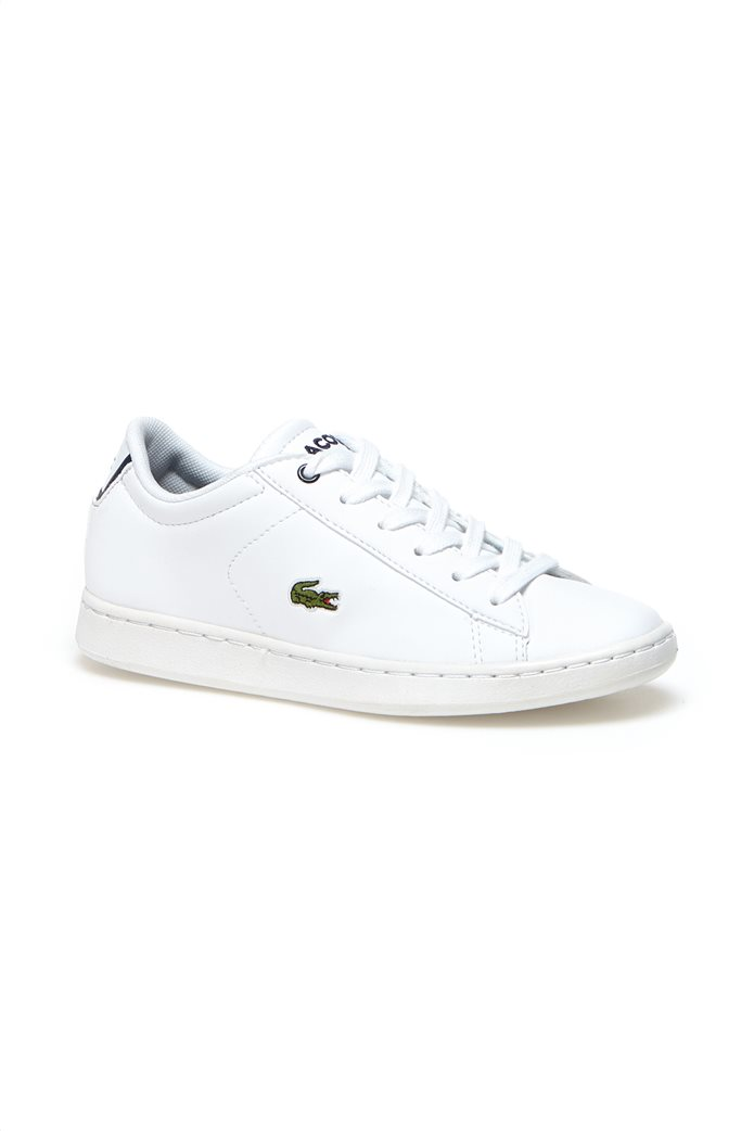 0fc63347561 LACOSTE FOOTWEAR | Lacoste λευκά παιδικά παπούτσια Carnaby Evo Λευκό | notos