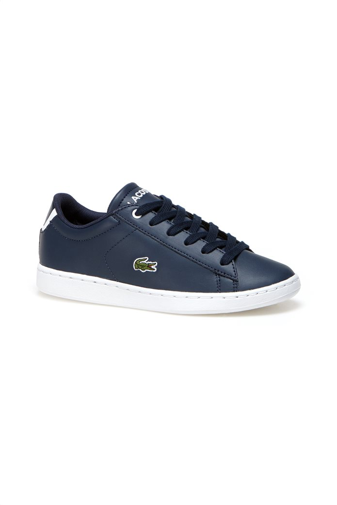 887e0f8aa6b LACOSTE FOOTWEAR | Lacoste παιδικά παπούτσια Carnaby Evo Μπλε Σκούρο | notos