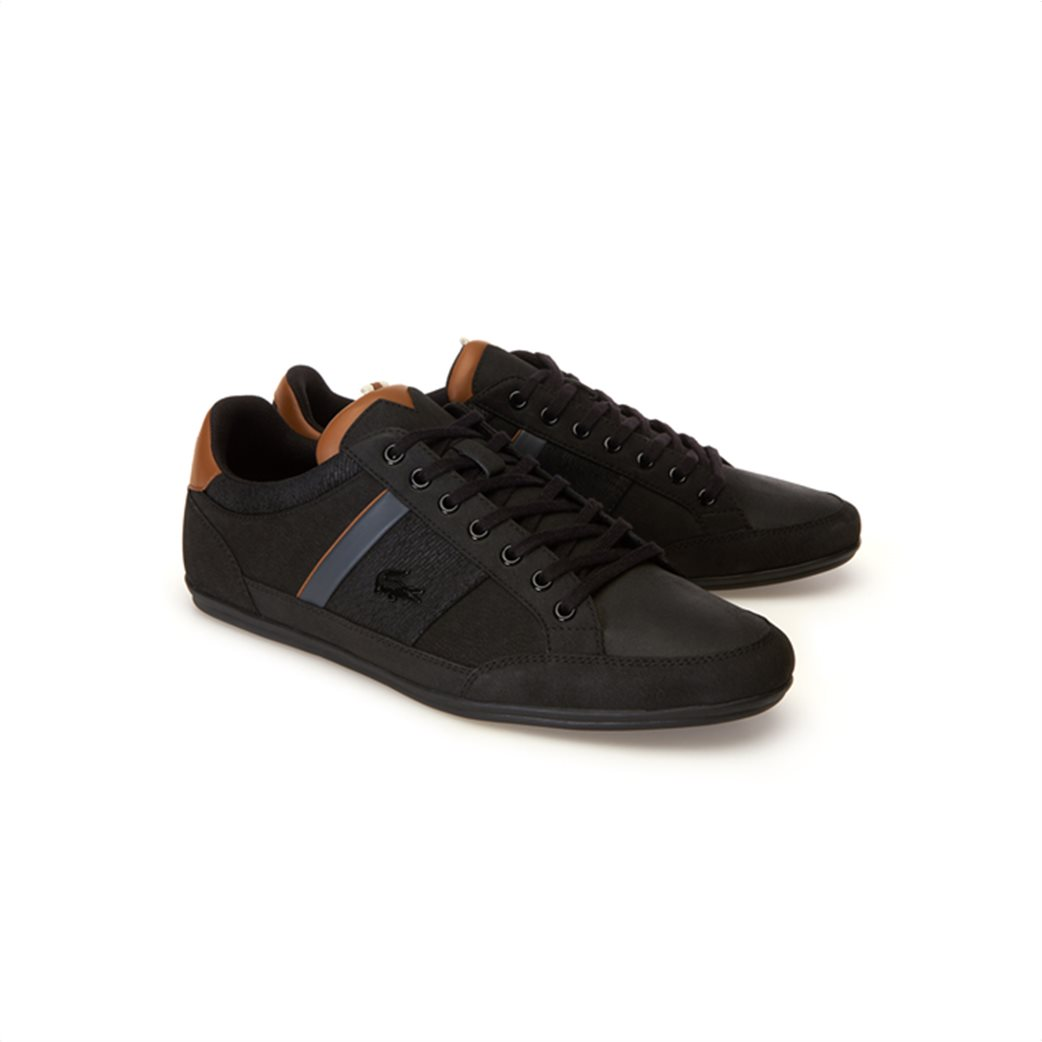 Lacoste ανδρικά παπούτσια Chaymon μαύρα 1