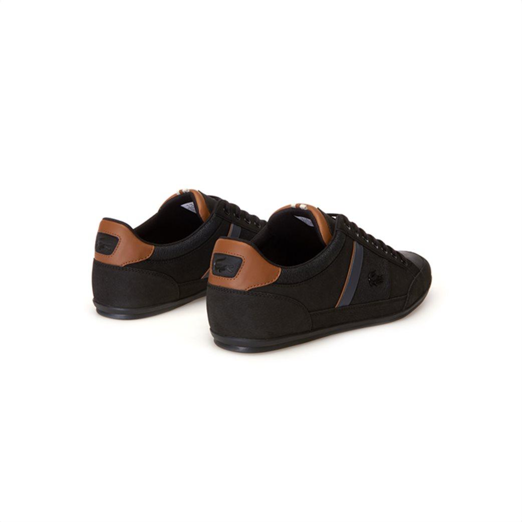 Lacoste ανδρικά παπούτσια Chaymon μαύρα 2