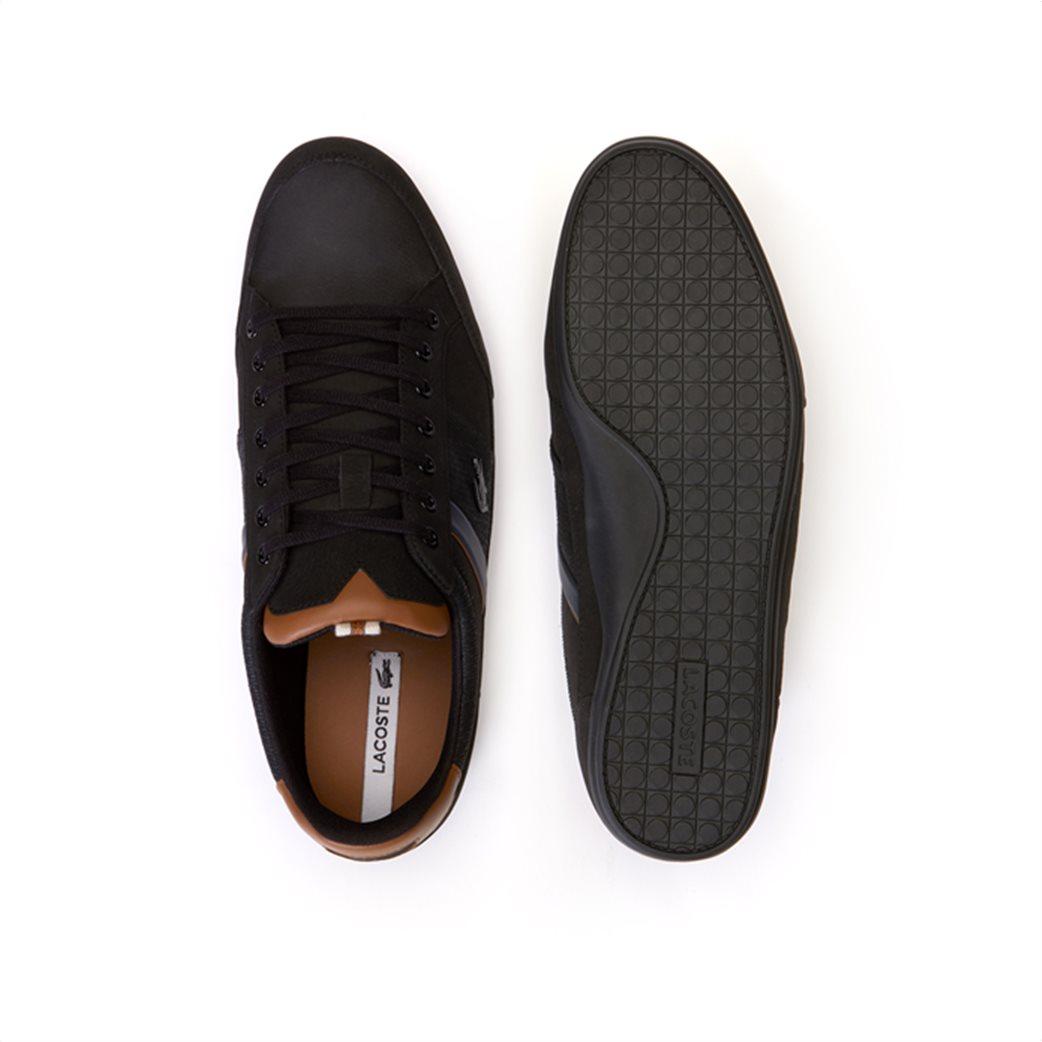 Lacoste ανδρικά παπούτσια Chaymon μαύρα 3