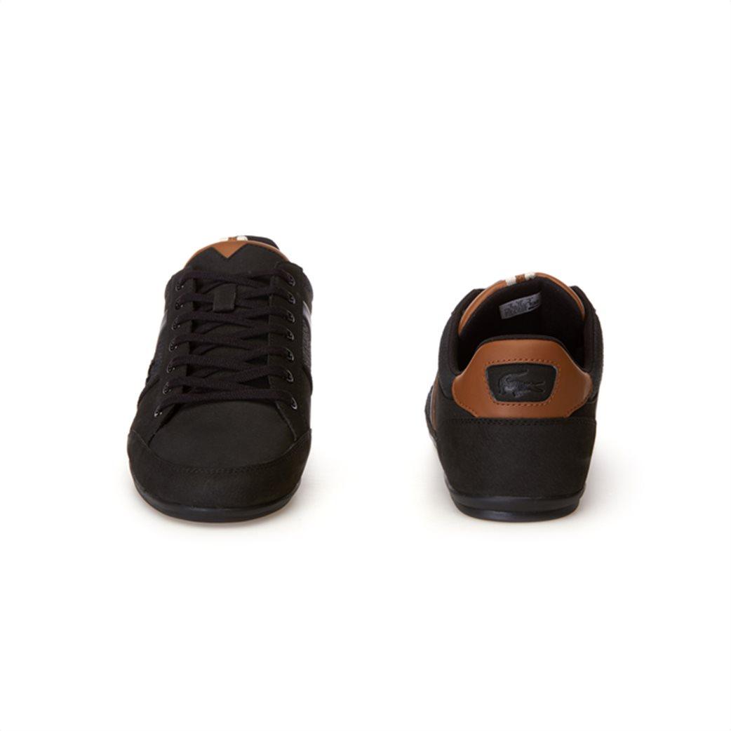 Lacoste ανδρικά παπούτσια Chaymon μαύρα 4