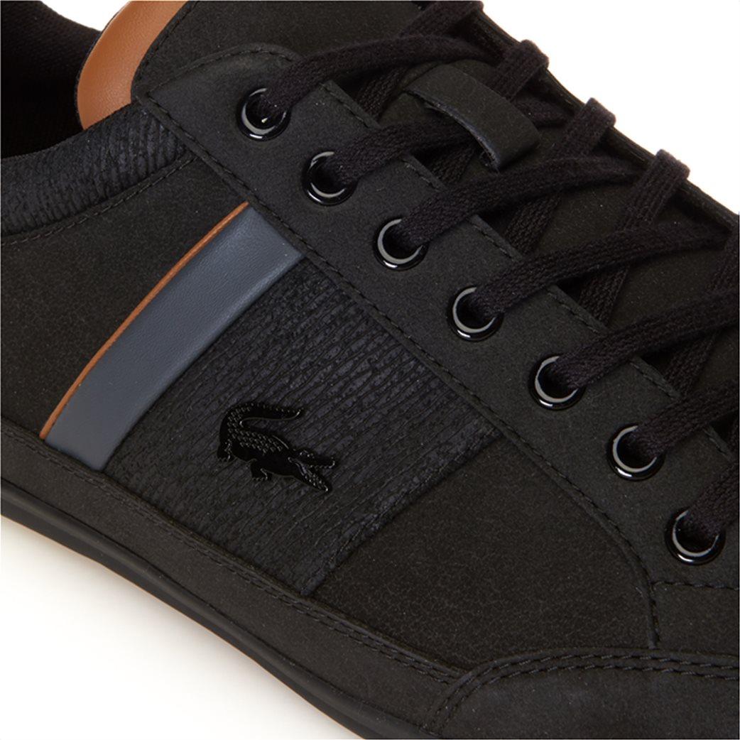 Lacoste ανδρικά παπούτσια Chaymon μαύρα 5