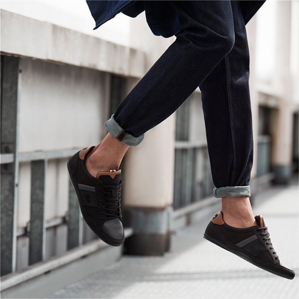 Lacoste ανδρικά παπούτσια Chaymon μαύρα 6