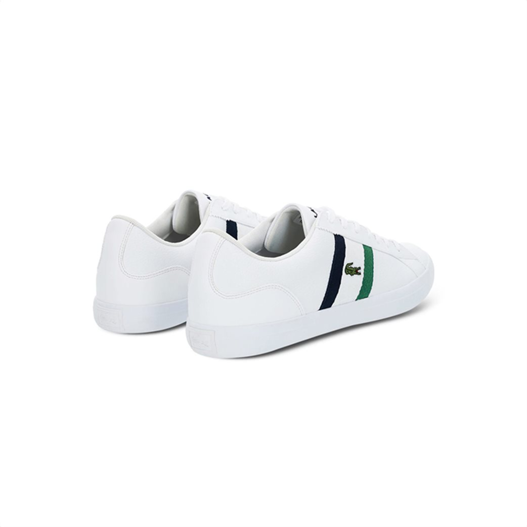 Lacoste ανδρικά sneakers με κορδόνια και ύφασμα Lerond 2