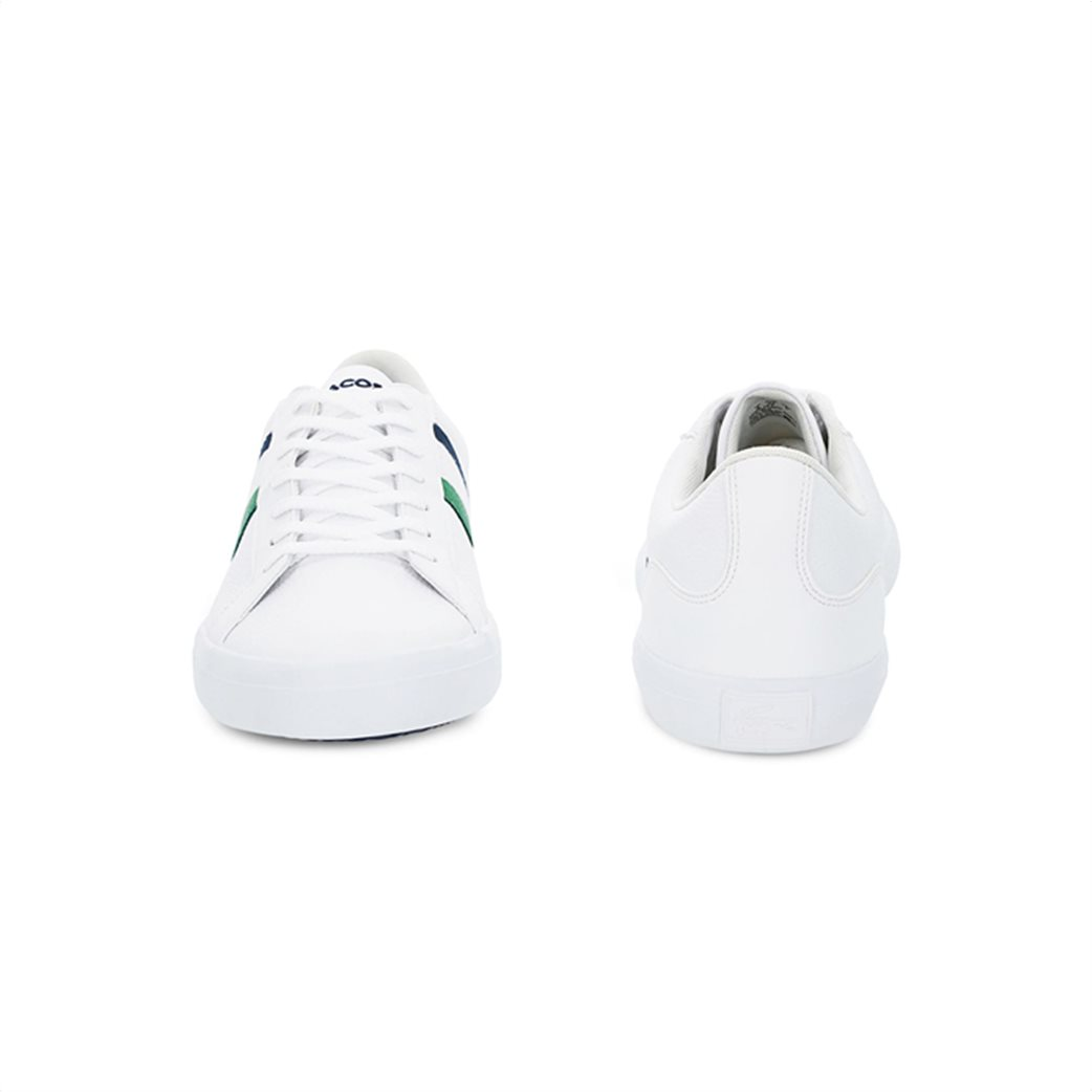 Lacoste ανδρικά sneakers με κορδόνια και ύφασμα Lerond 4