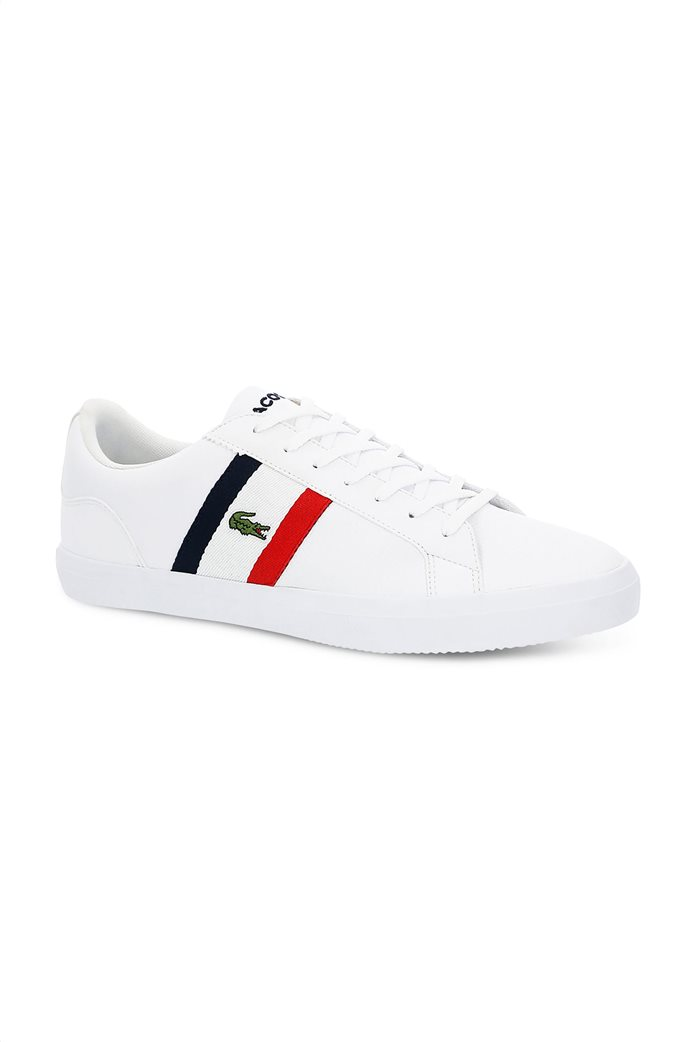 Lacoste ανδρικά sneakers με κορδόνια και κεντημένο λογότυπο Lerond 0