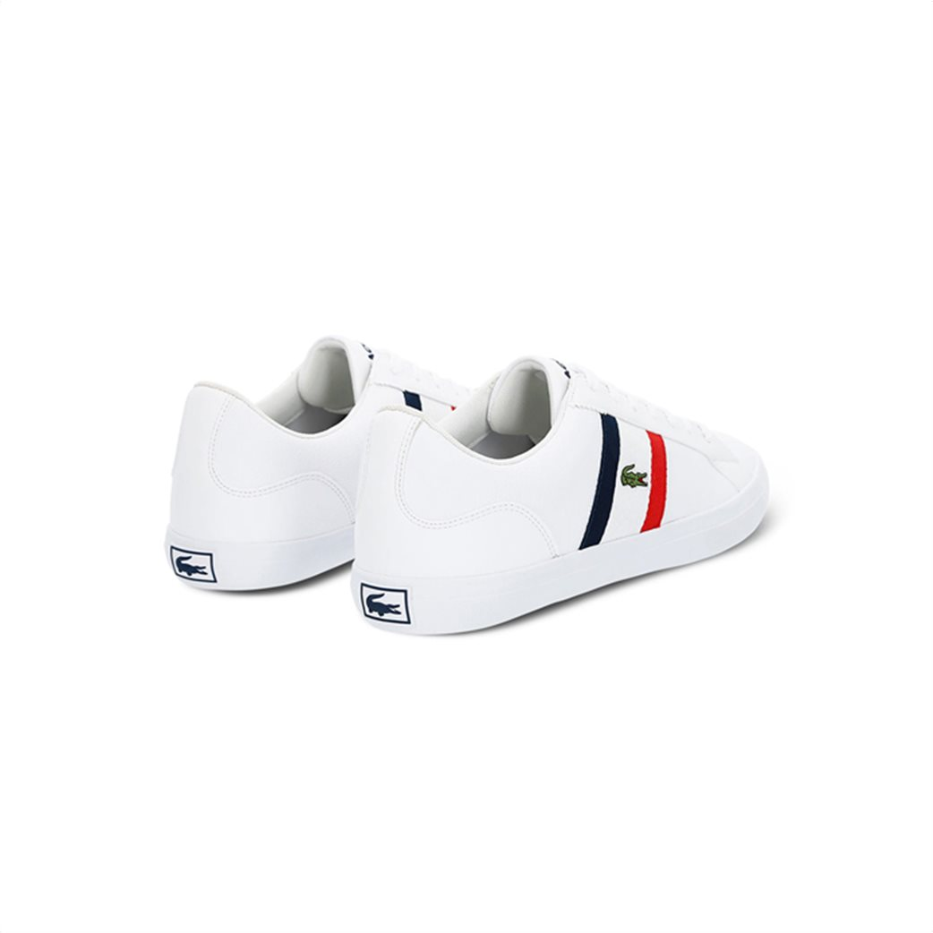 Lacoste ανδρικά sneakers με κορδόνια και κεντημένο λογότυπο Lerond 2