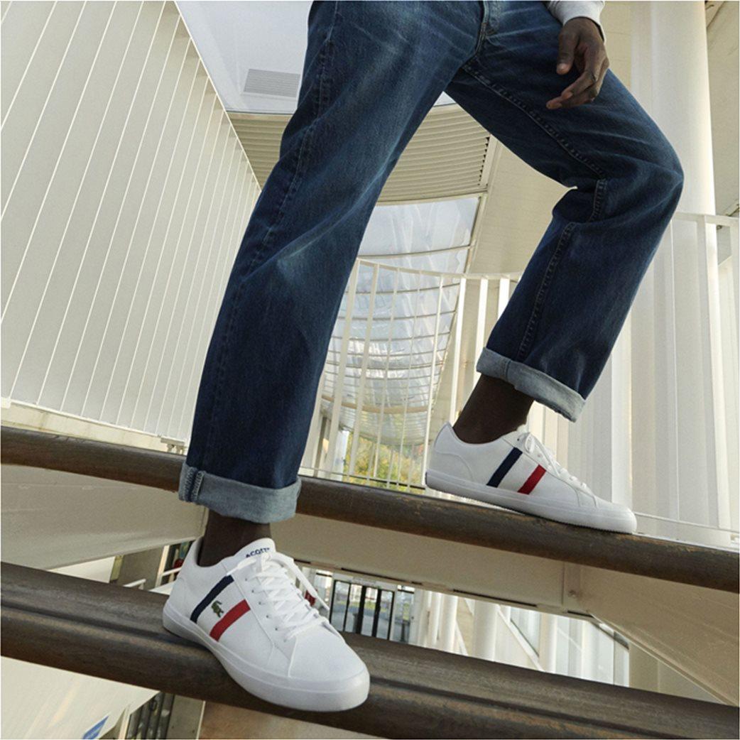 Lacoste ανδρικά sneakers με κορδόνια και κεντημένο λογότυπο Lerond 6