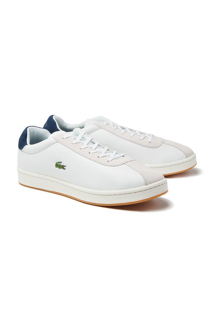 Lacoste ανδρικά sneakers με κορδόνια Masters 1