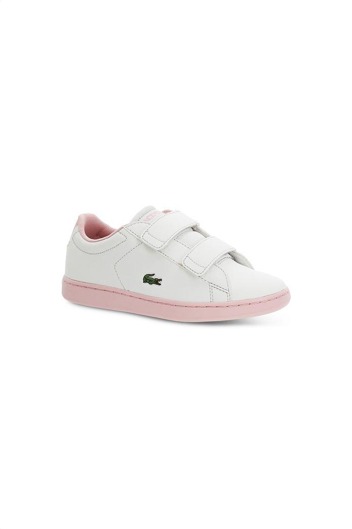 Lacoste παιδικά sneakers με velcro Carnaby Evo 0