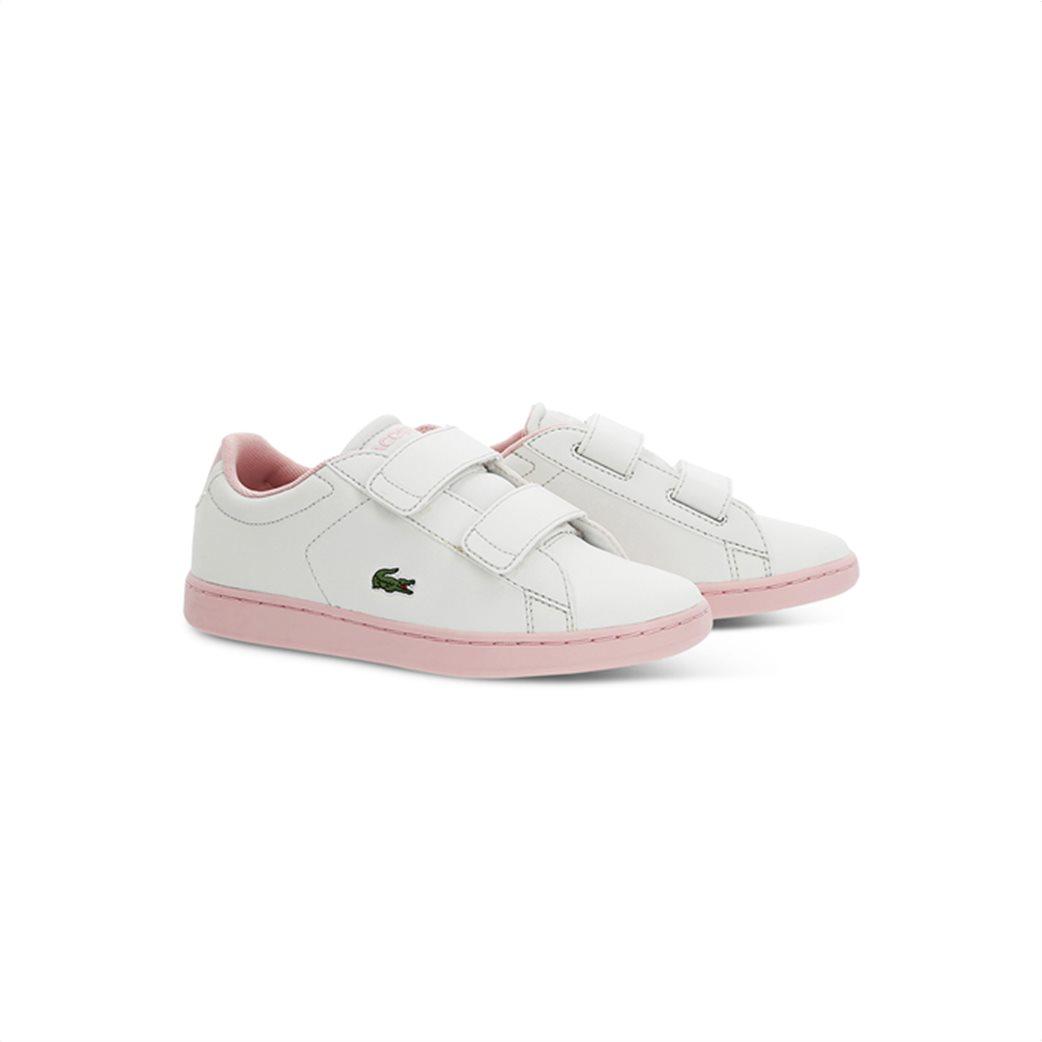 Lacoste παιδικά sneakers με velcro Carnaby Evo 1