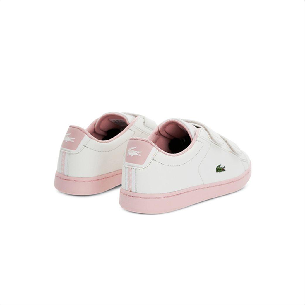 Lacoste παιδικά sneakers με velcro Carnaby Evo 2