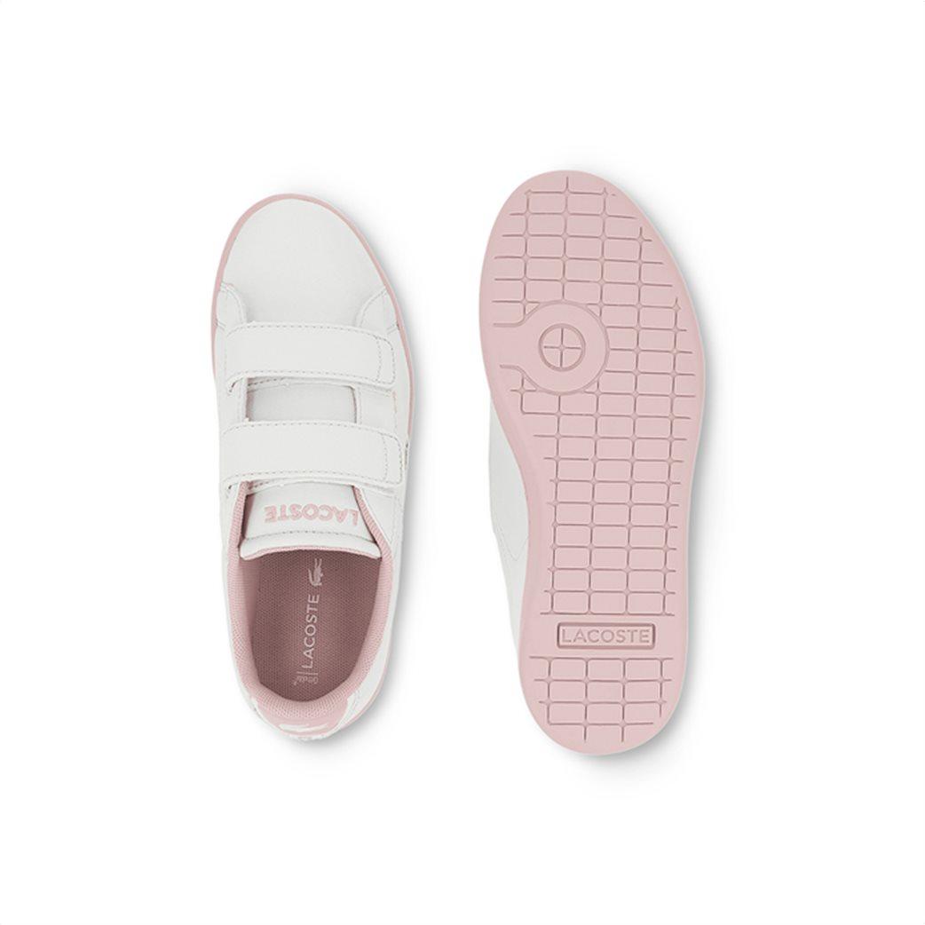 Lacoste παιδικά sneakers με velcro Carnaby Evo 3