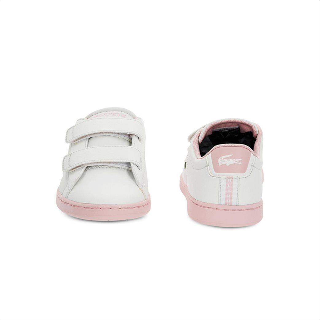 Lacoste παιδικά sneakers με velcro Carnaby Evo 4