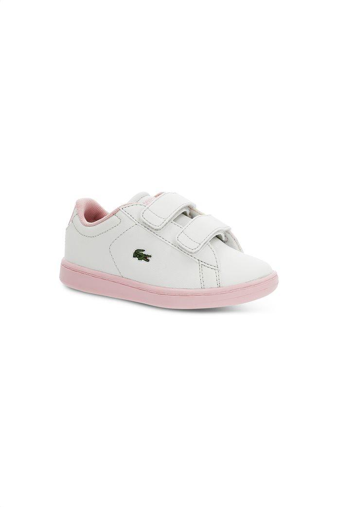 Lacoste βρεφικά sneakers με velcro Carnaby Evo 0