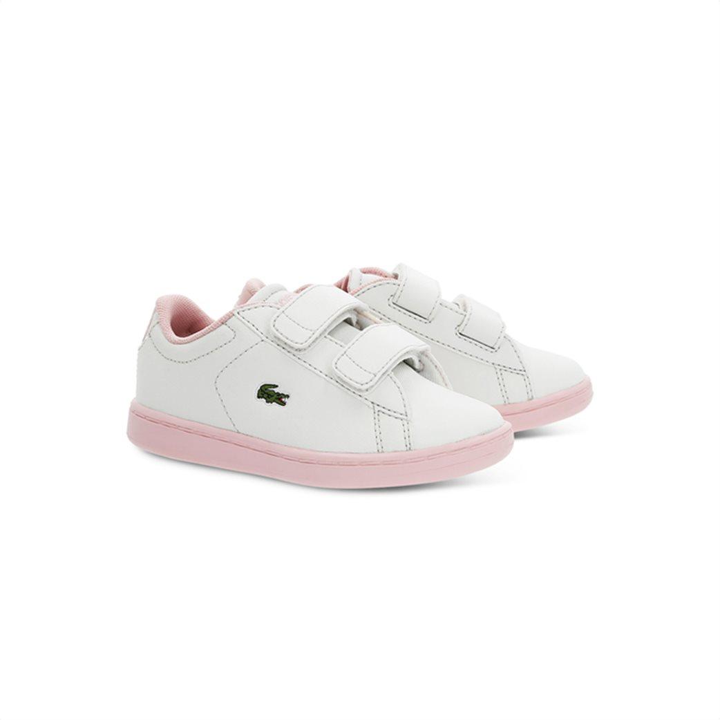 Lacoste βρεφικά sneakers με velcro Carnaby Evo 1