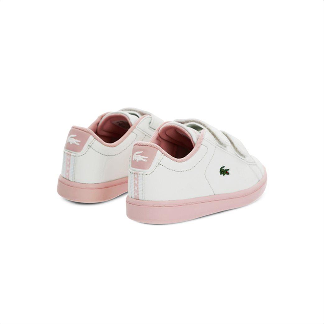 Lacoste βρεφικά sneakers με velcro Carnaby Evo 2