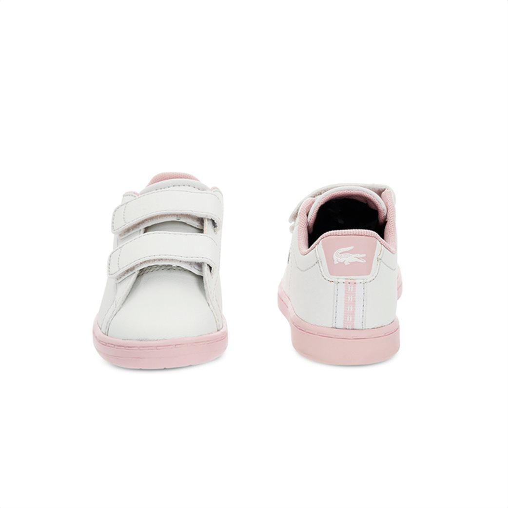 Lacoste βρεφικά sneakers με velcro Carnaby Evo 4