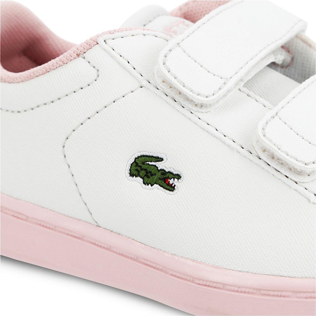 Lacoste βρεφικά sneakers με velcro Carnaby Evo 5