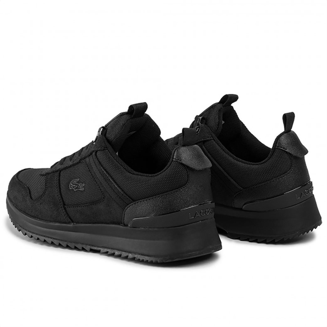 """Lacoste ανδρικά suede sneakers """"Joggeur"""" Μαύρο 2"""