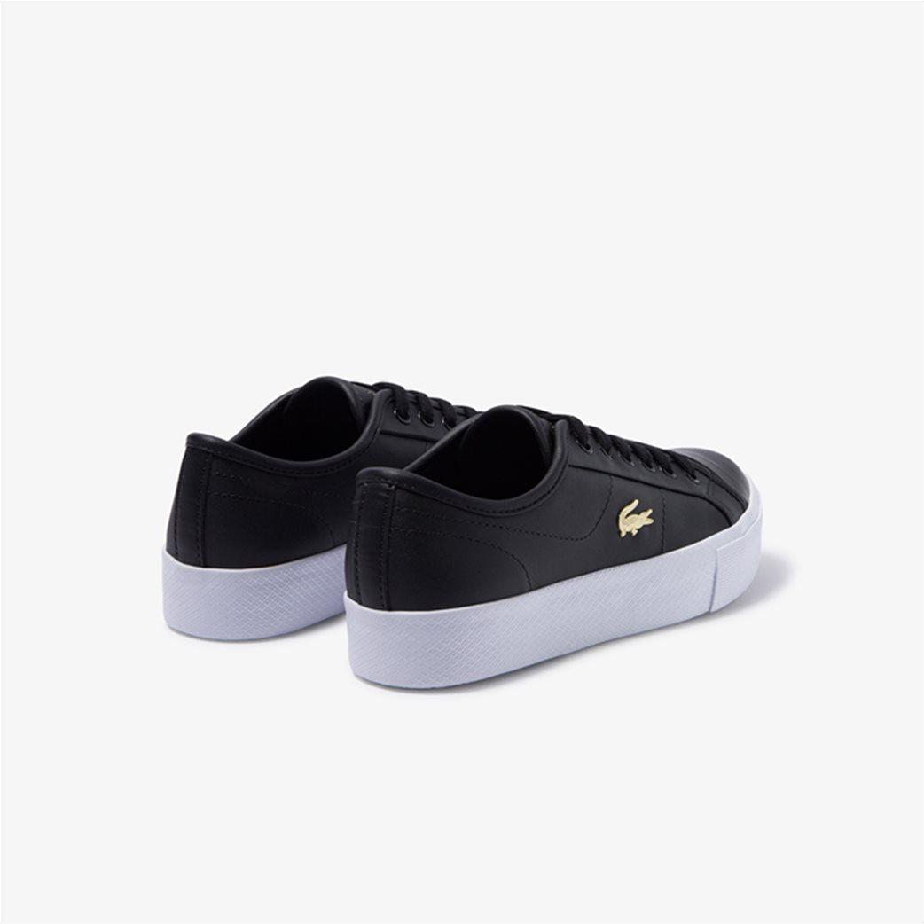 "Lacoste γυναικεία δίσολα sneakers ""Ziane Plus Grand 1201"" Μαύρο 2"