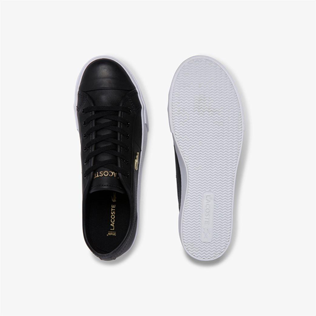 "Lacoste γυναικεία δίσολα sneakers ""Ziane Plus Grand 1201"" Μαύρο 3"