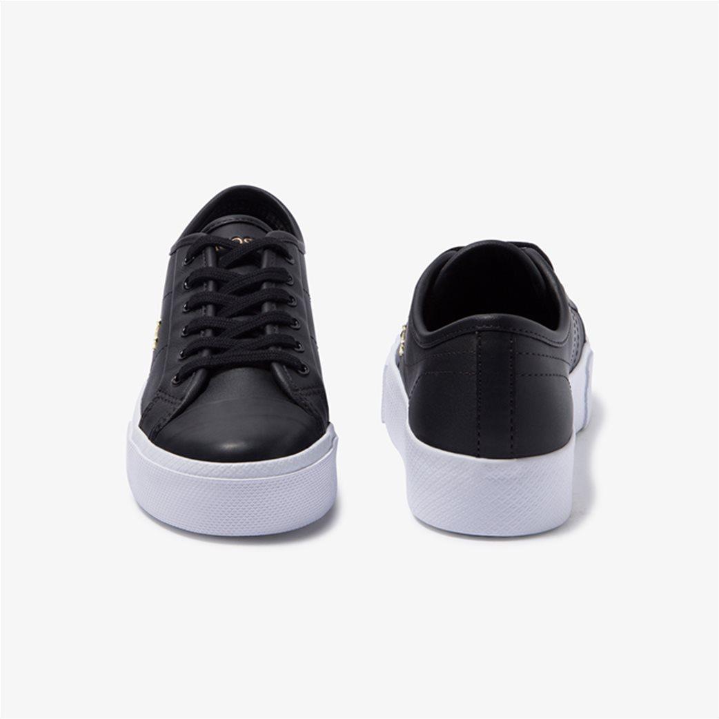 "Lacoste γυναικεία δίσολα sneakers ""Ziane Plus Grand 1201"" Μαύρο 4"