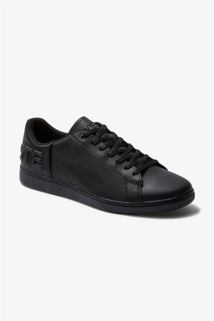 "Lacoste ανδρικά sneakers με μεγάλο λογότυπο  ""Carnaby Evo 120"" Μαύρο 0"