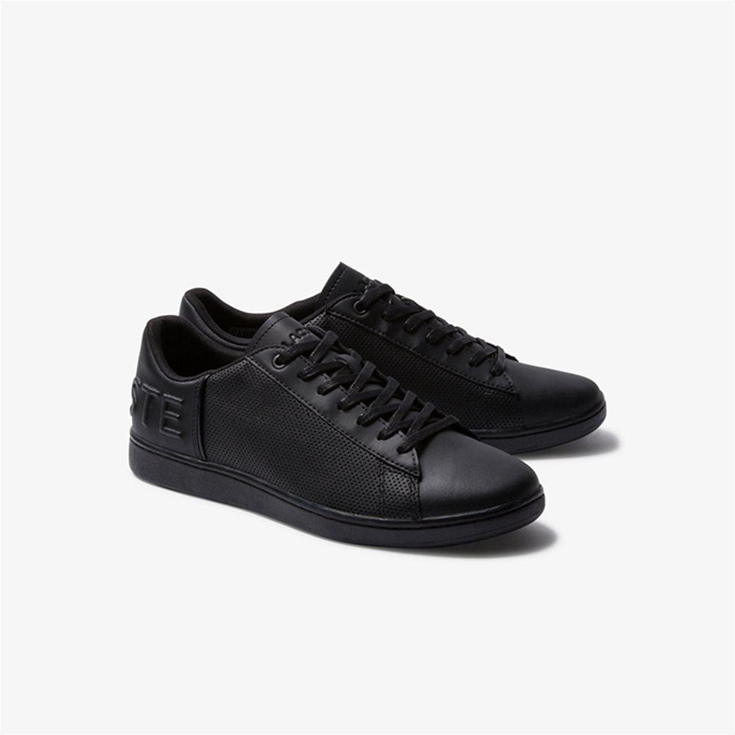 "Lacoste ανδρικά sneakers με μεγάλο λογότυπο  ""Carnaby Evo 120"" Μαύρο 1"