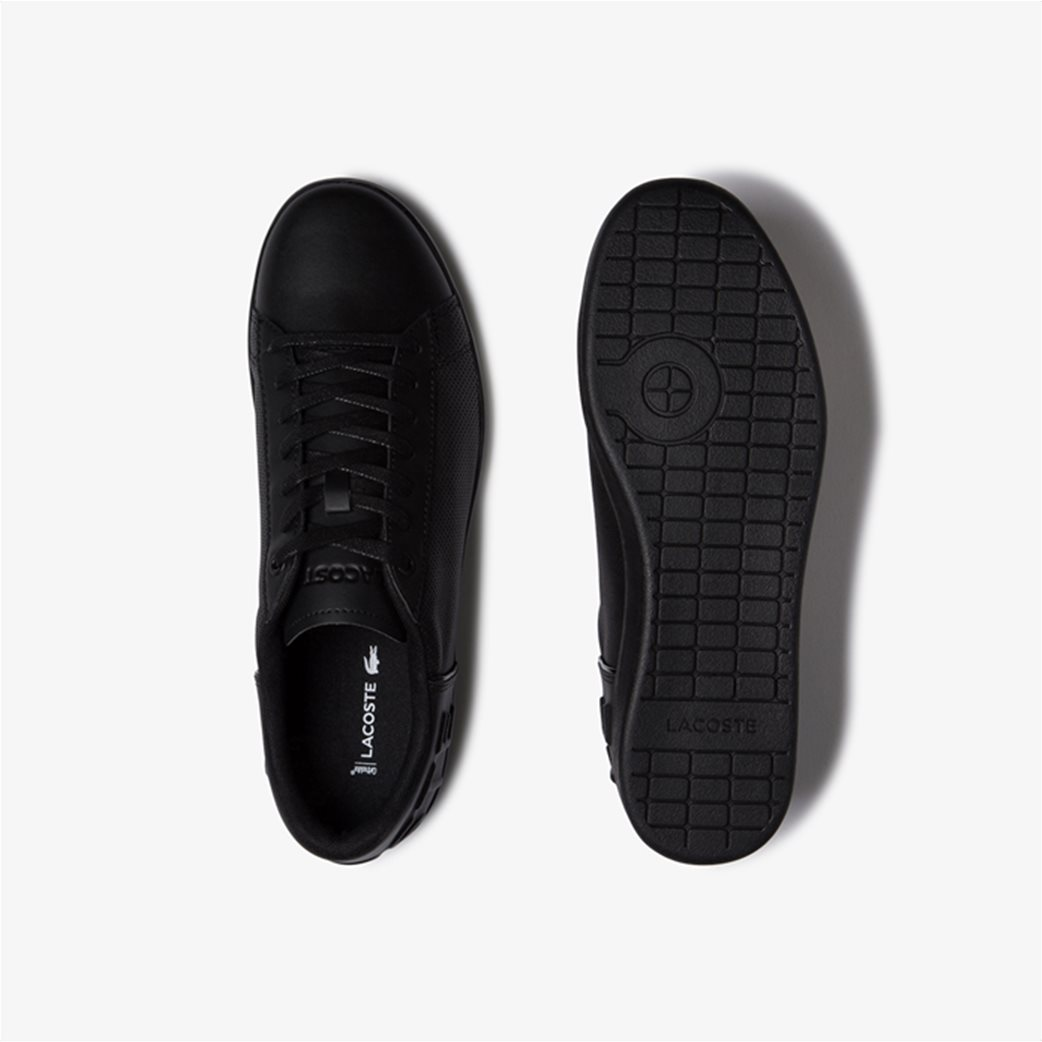 "Lacoste ανδρικά sneakers με μεγάλο λογότυπο  ""Carnaby Evo 120"" Μαύρο 3"