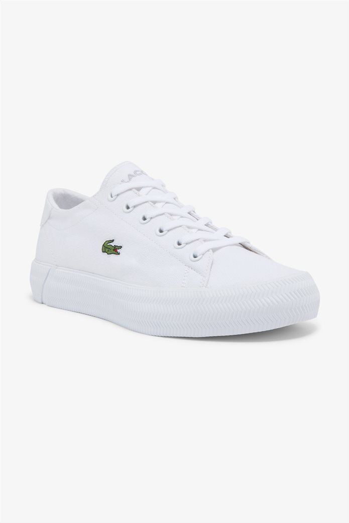 "Lacoste γυναικεία sneakers ""Gripshot"" Λευκό 0"