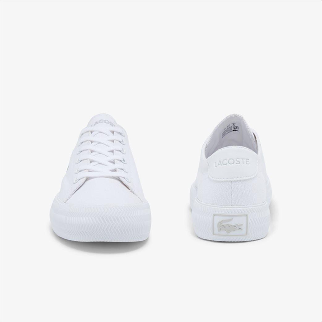 "Lacoste γυναικεία sneakers ""Gripshot"" Λευκό 3"
