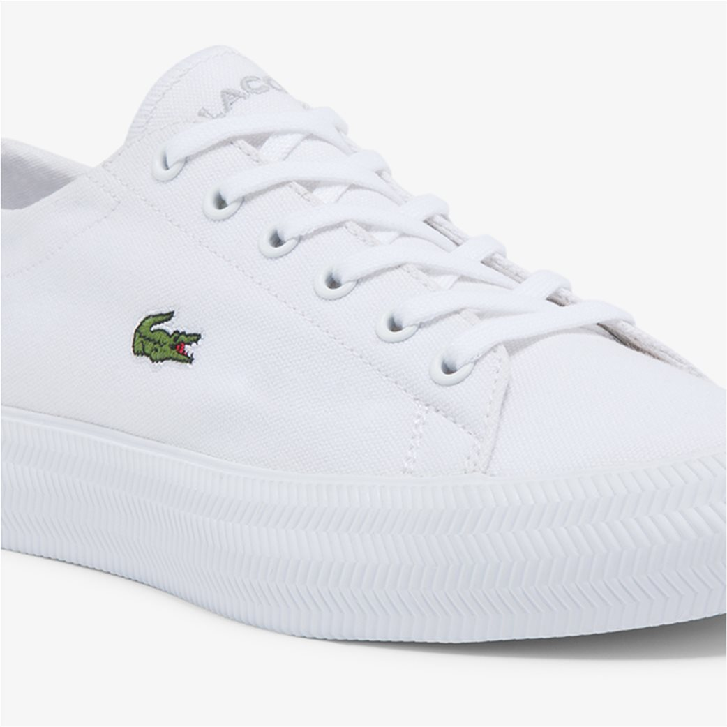"Lacoste γυναικεία sneakers ""Gripshot"" Λευκό 4"