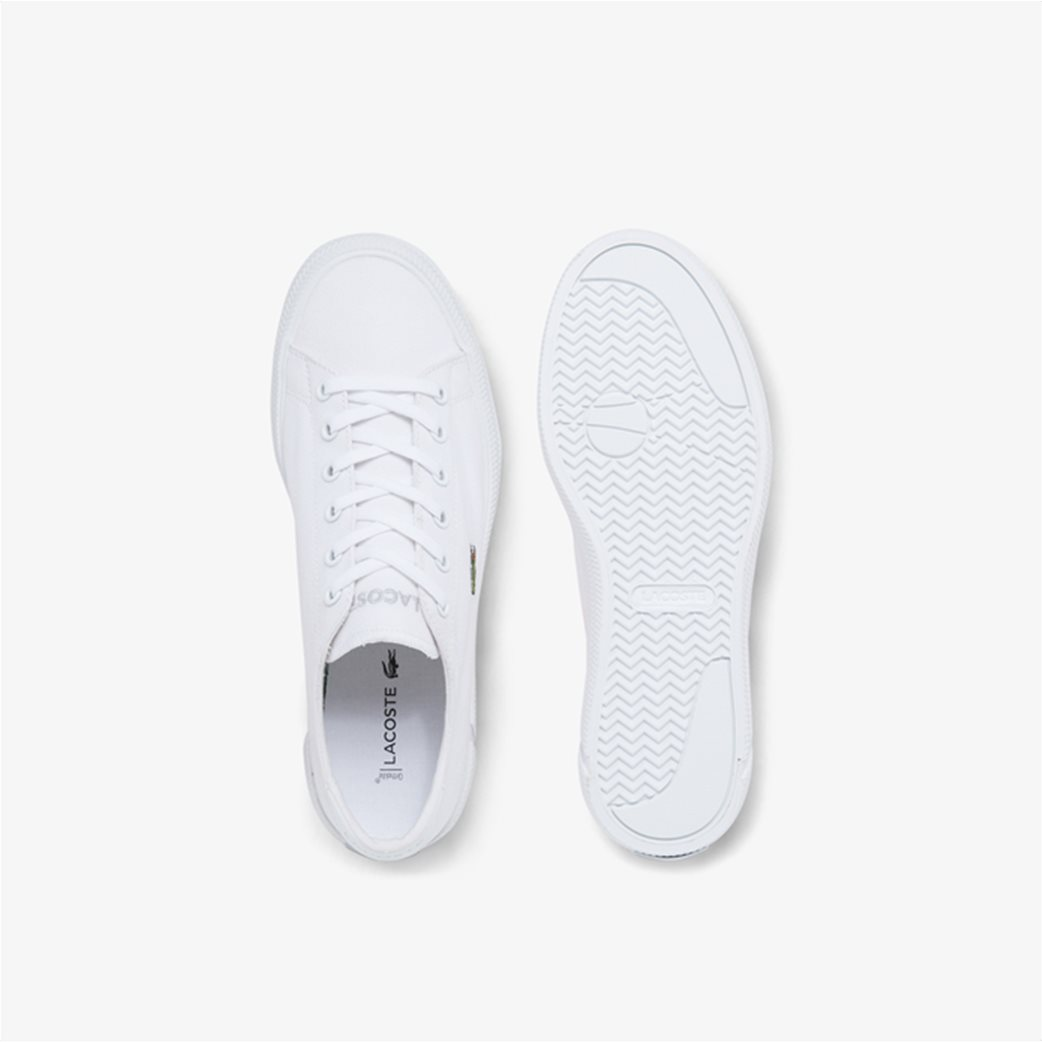 "Lacoste γυναικεία sneakers ""Gripshot"" Λευκό 5"