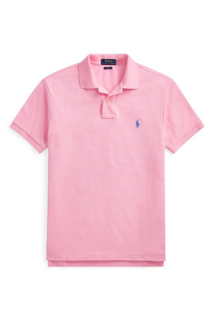 46060d00eca9 Polo Ralph Lauren ανδρική μπλούζα πόλο Slim Fit Mesh 4