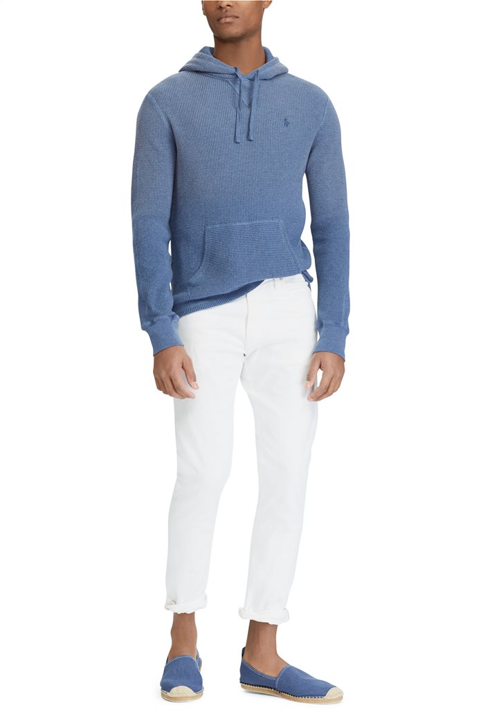 Polo Ralph Lauren ανδρικό τζην παντελόνι λευκό Sullivan Slim Stretch 0