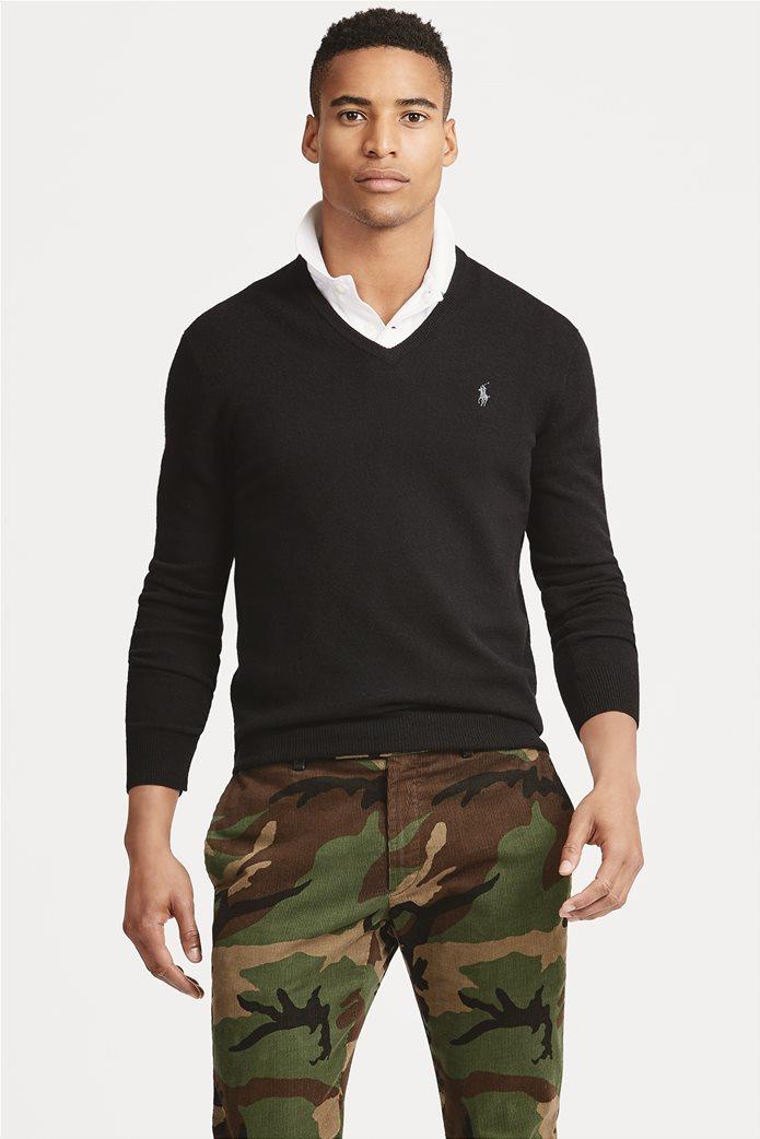 Polo Ralph Lauren ανδρική πλεκτή μάλλινη μπλούζα 0