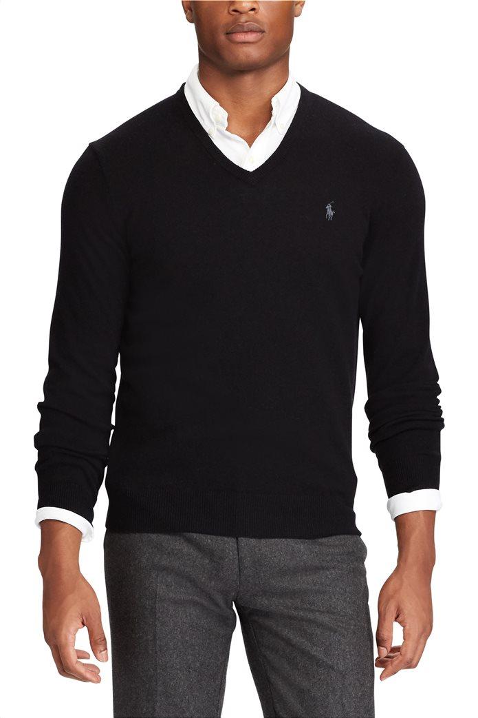 Polo Ralph Lauren ανδρική πλεκτή μάλλινη μπλούζα 2