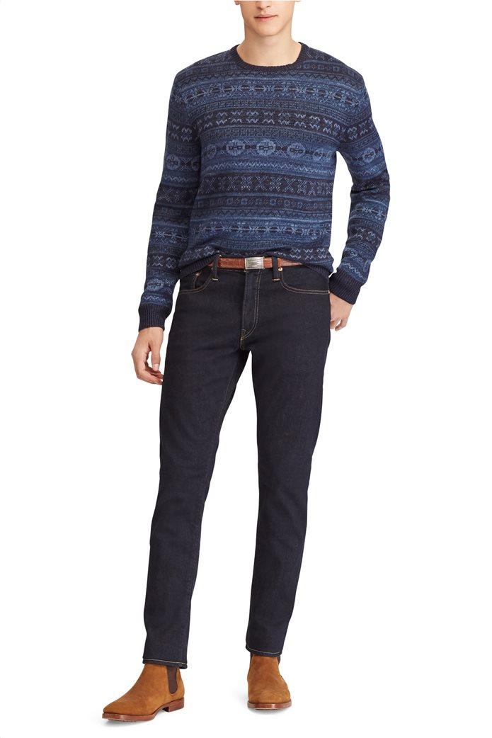 Polo Ralph Lauren ανδρικό τζην παντελόνι μπλε σκούρο Sullivan Slim Stretch 0