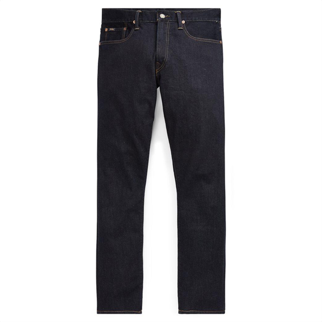 Polo Ralph Lauren ανδρικό τζην παντελόνι μπλε σκούρο Sullivan Slim Stretch 1