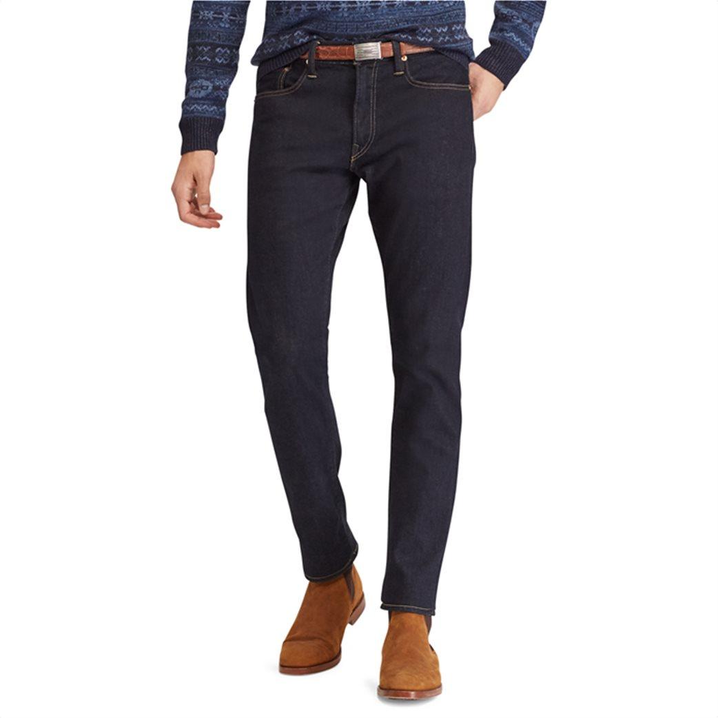 Polo Ralph Lauren ανδρικό τζην παντελόνι μπλε σκούρο Sullivan Slim Stretch 2