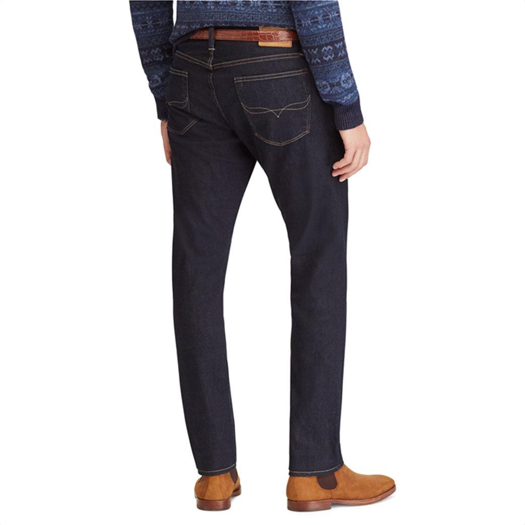 Polo Ralph Lauren ανδρικό τζην παντελόνι μπλε σκούρο Sullivan Slim Stretch 3