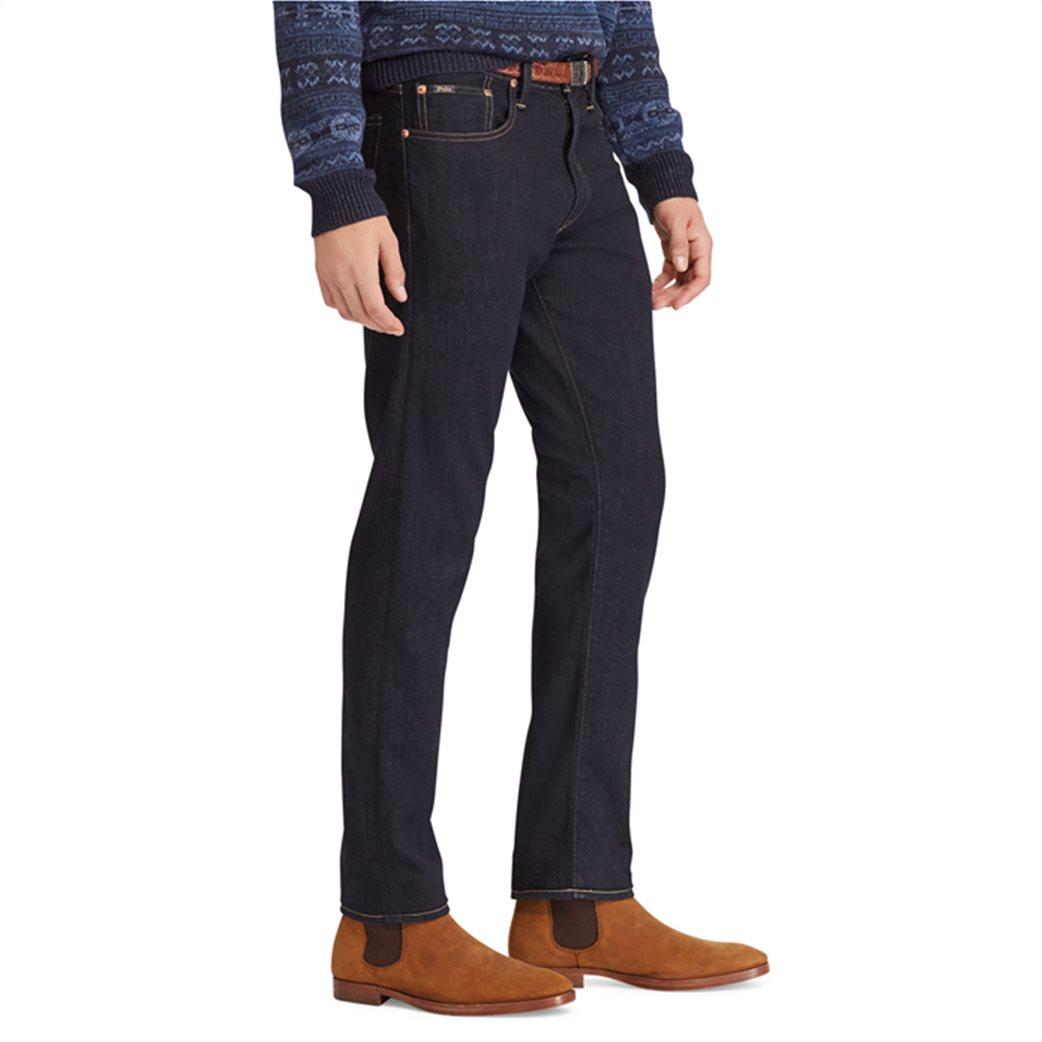 Polo Ralph Lauren ανδρικό τζην παντελόνι μπλε σκούρο Sullivan Slim Stretch 4