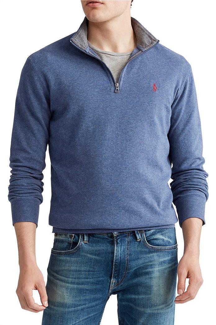 Polo Ralph Lauren ανδρική μπλούζα με φερμουάρ 1/2 0