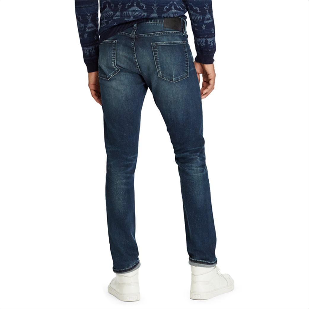 Polo Ralph Lauren ανδρικό τζην παντελόνι μπλε σκούρο Sullivan Slim Performance 3