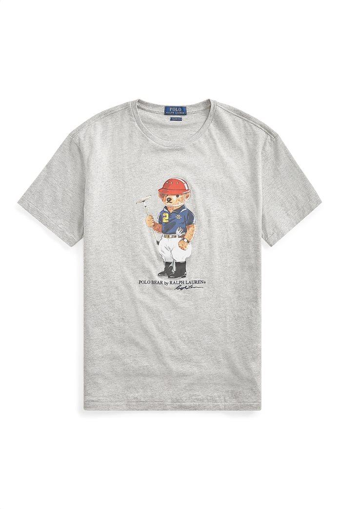 Polo Ralph Lauren ανδρικό T-shirt με στάμπα Classic Fit Polo Bear 1