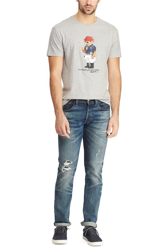 Polo Ralph Lauren ανδρικό T-shirt με στάμπα Classic Fit Polo Bear 2