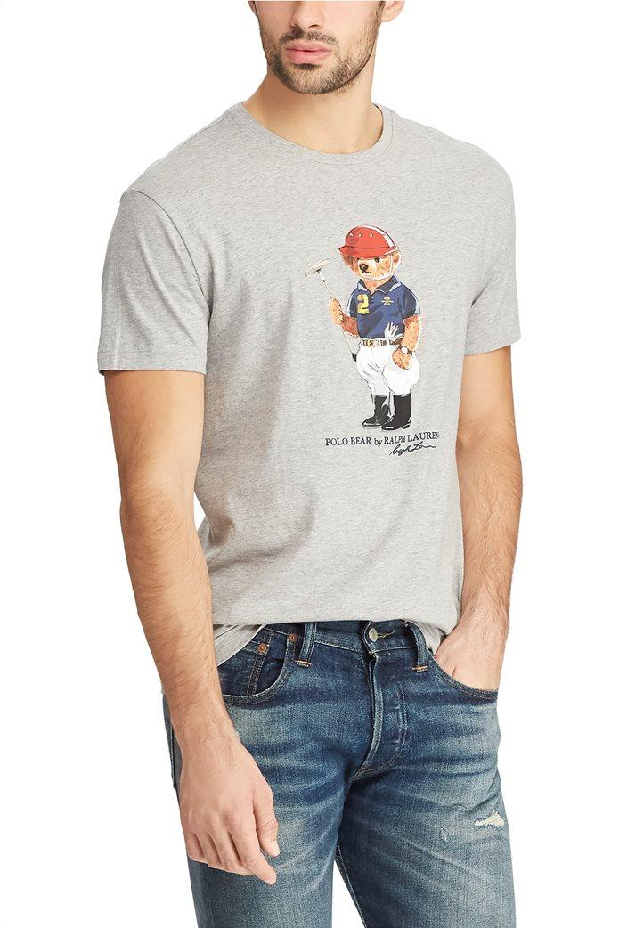 Polo Ralph Lauren ανδρικό T-shirt με στάμπα Classic Fit Polo Bear 3