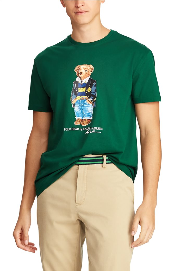 Polo Ralph Lauren ανδρικό T-shirt με στάμπα Classic Fit Polo Bear 3